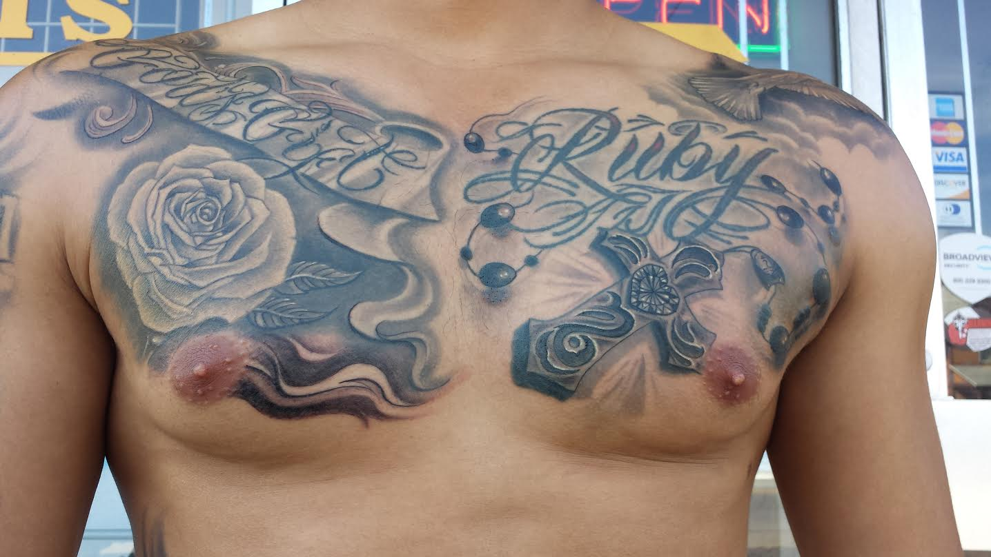 Photo effects tattoo online free