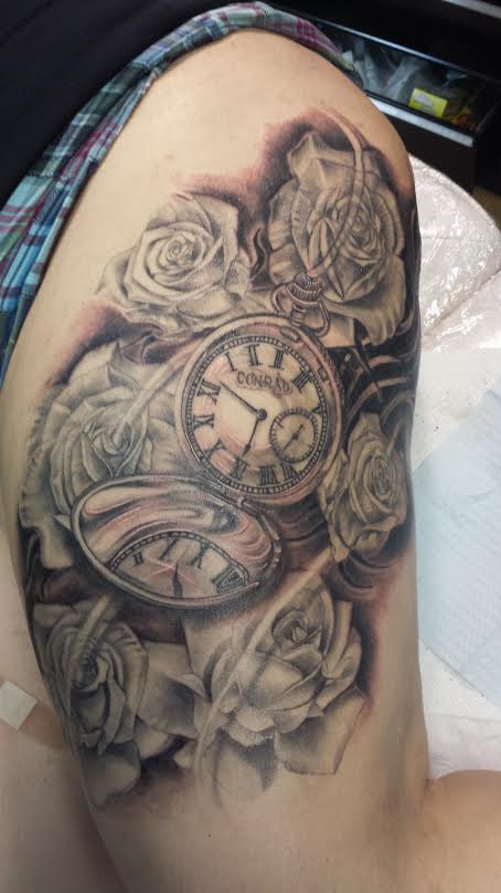 pocket-watch-tattoo